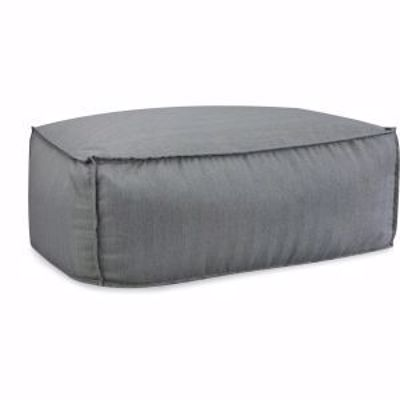 Picture of U125-10 JUNIPER OUTDOOR OTTOMAN AND 1/2