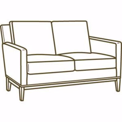 Picture of 1399-02 LOVESEAT
