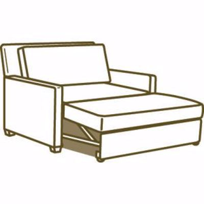 Picture of 3827-96 CONVERTIBLE CHAISE