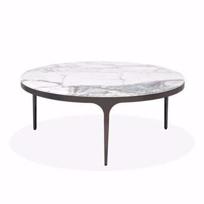 Picture of CAMILLA COCKTAIL TABLE - CARRARA