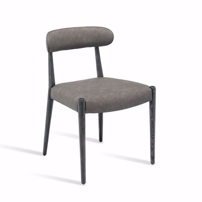 Picture of ADELINE DINING CHAIR - CHARCOAL