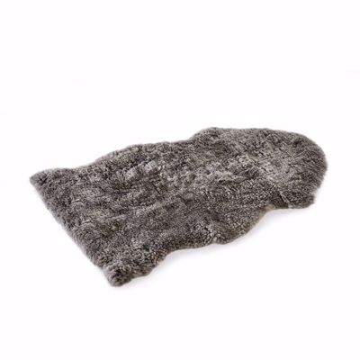 Picture of SINGLE SHEARLING RUG - GREY